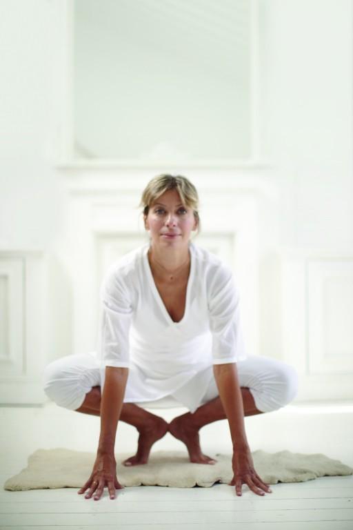 Maya Fiennes Crow Pose