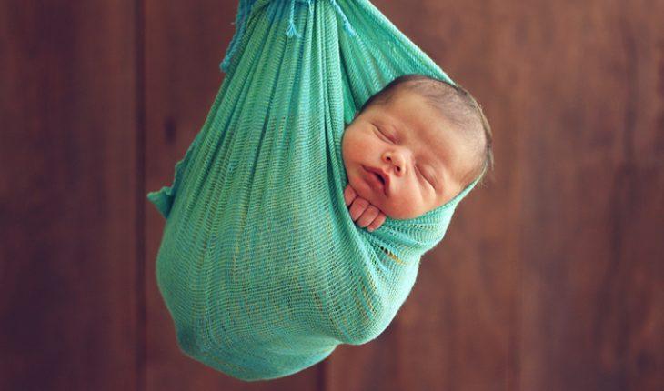 Caesarean-born babies