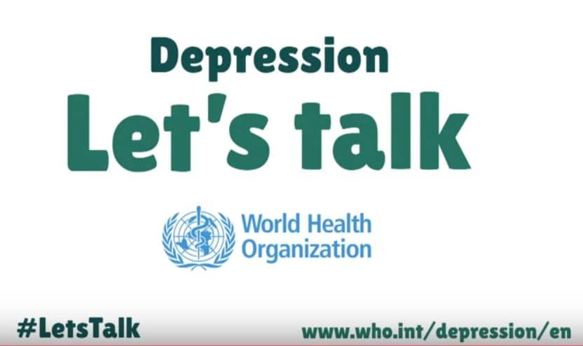 "World Health Organization's ""Depression: let's talk"" campaign - The Hippocratic Post"