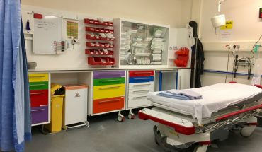 Emergency department Trauma and Resuscitation room