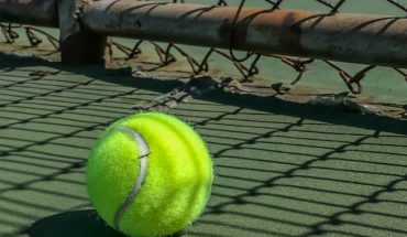 tennis ball close up
