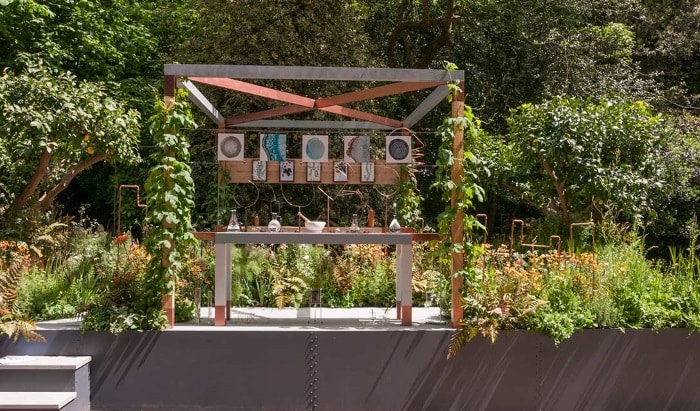 The apothecary 39 s garden at chelsea the hippocratic post Winner chelsea flower show 2017