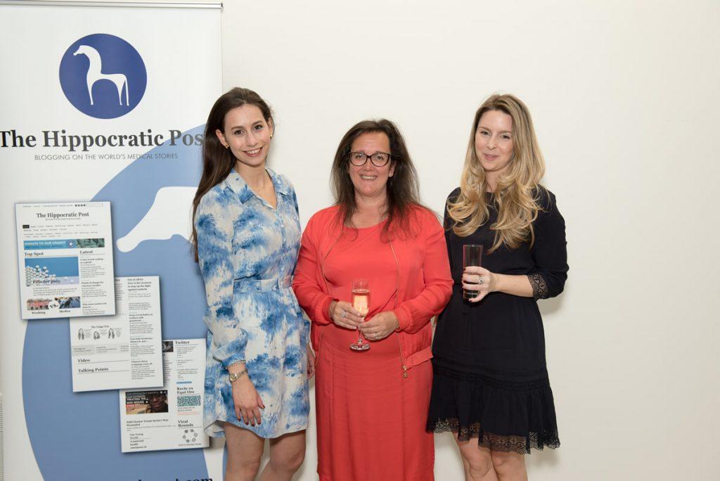 (Left to right) Flora Carr, Thea Jourdan, Katie Alder