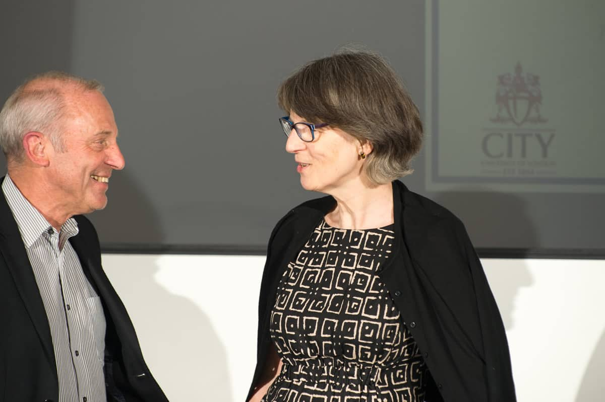 Professor Karol Sikora & Barbara Rowlands