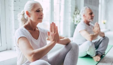 older people yoga