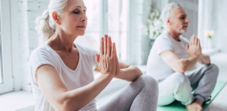 older people yoga
