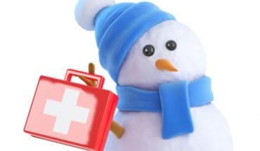 Christmas First Aid Kit