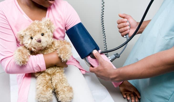 kids' blood pressure