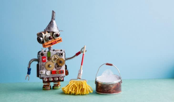 disinfecting robot